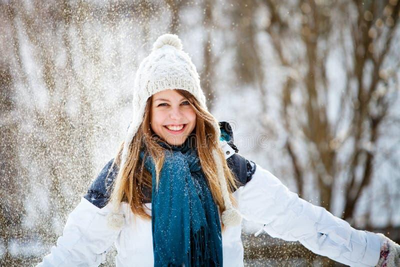 Zimy zabawa zdjęcie stock