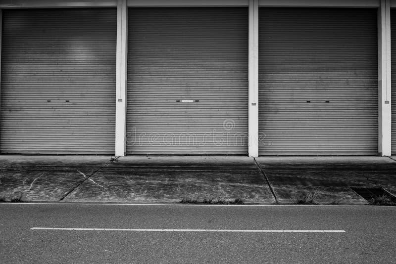 Download Zinc door stock image. Image of heavy garage door industrial - & Zinc door stock image. Image of heavy garage door industrial ...