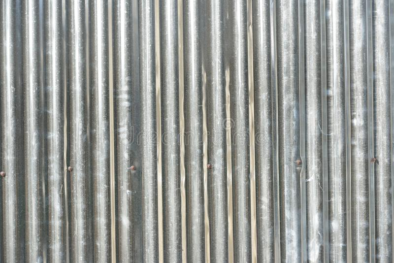 Zinc roof royalty free stock images