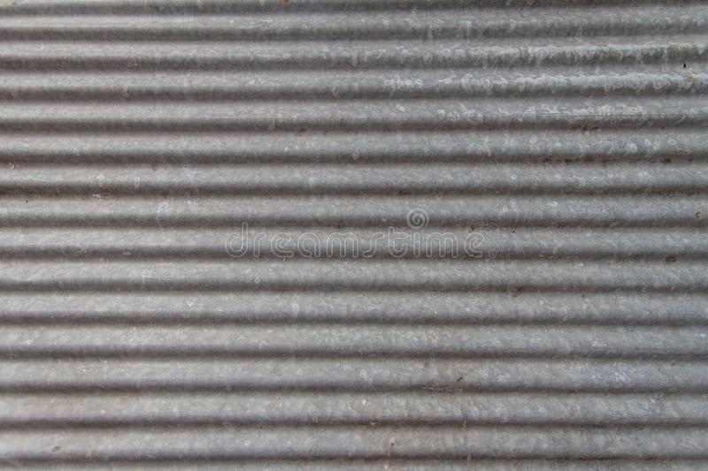 Zinc sheets texture background looks new. In horizontal axis photo royalty free stock photography