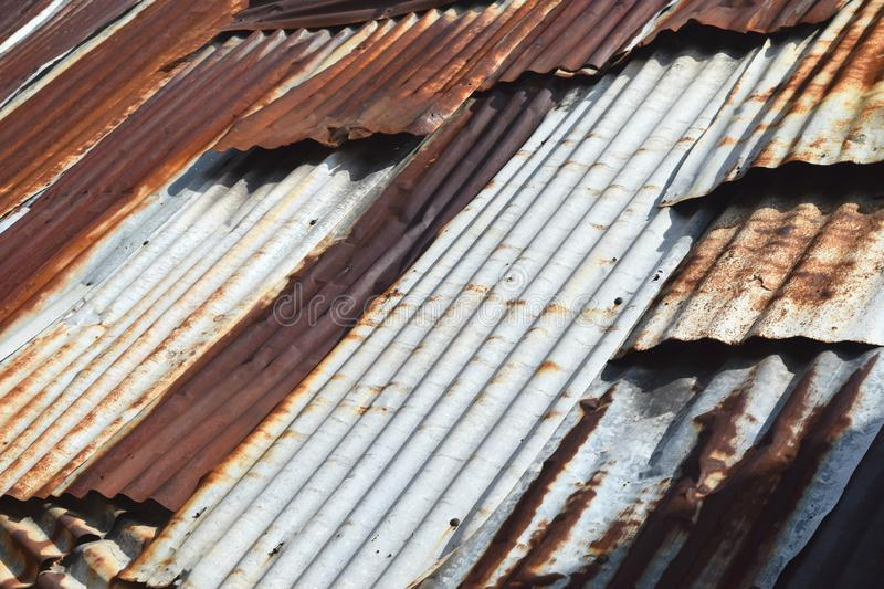Zinc Textures Industrial. On Background royalty free stock photos