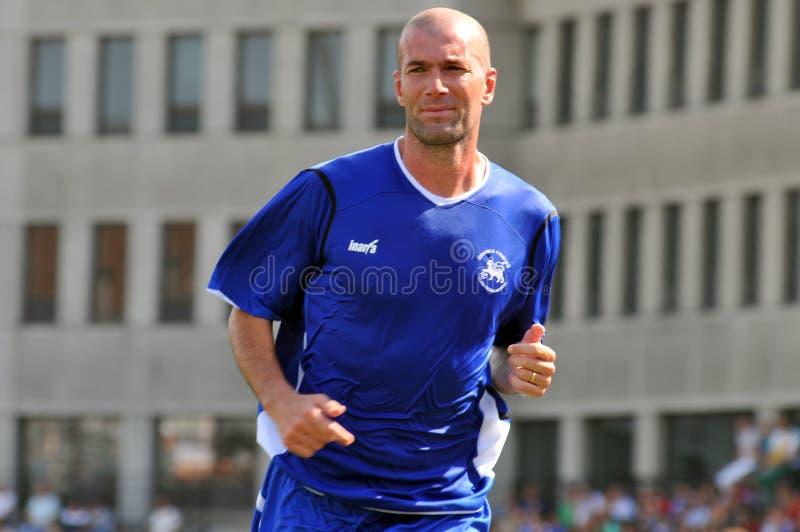 Zinedine Zidane stockbild