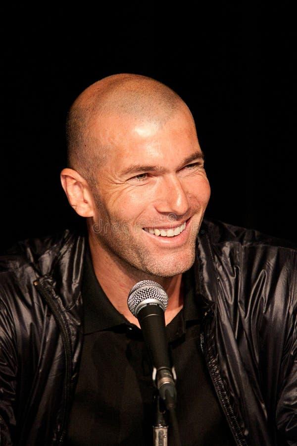 Zinedine Zidane imagenes de archivo