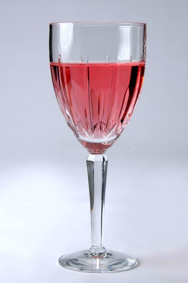 Zinfandel het Glas van de Wijn royalty-vrije stock fotografie