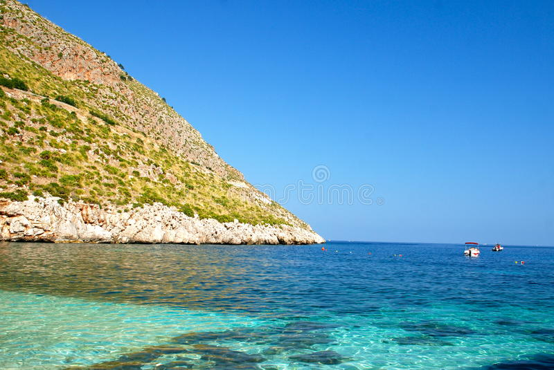 Download Zingaro Marine Reserve, Sicily Stock Image - Image of cape, mineral: 25230489