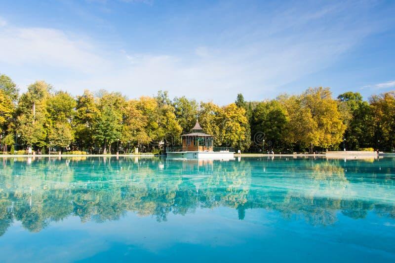 Zingende fonteinen in Plovdiv stock fotografie
