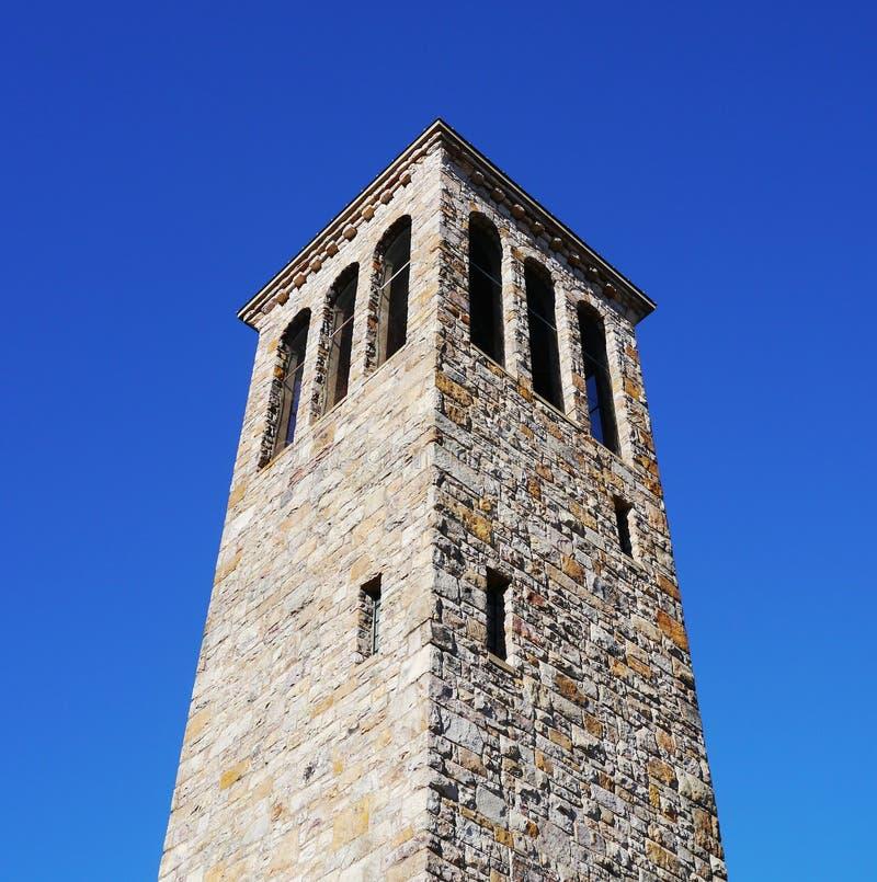 Zingende toren in Carillonpark royalty-vrije stock foto's