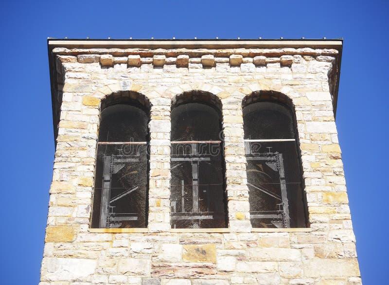 Zingende toren in Carillonpark royalty-vrije stock afbeelding