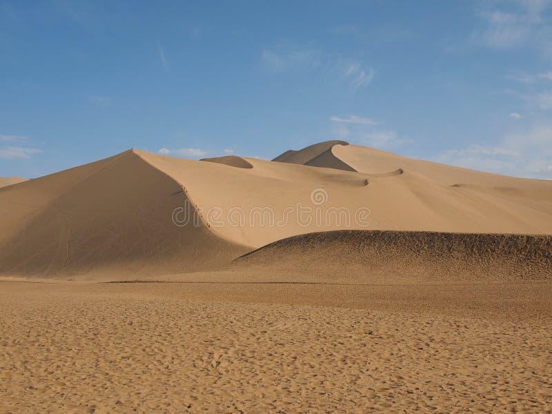 Zingende zandberg stock afbeelding