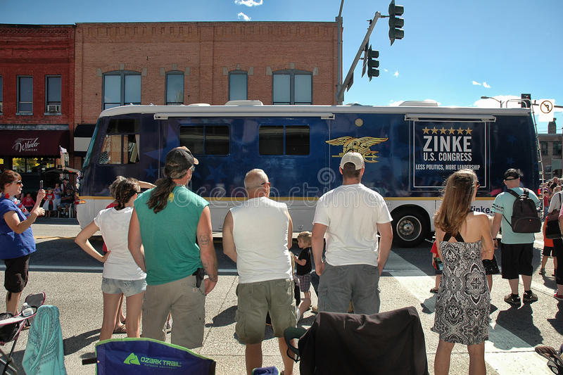 Zinkes buss royaltyfri fotografi