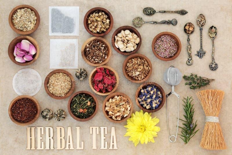 Ziołowej herbaty wybór zdjęcia stock