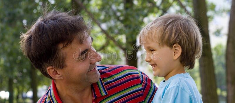 Zio e nipote 2 immagini stock libere da diritti