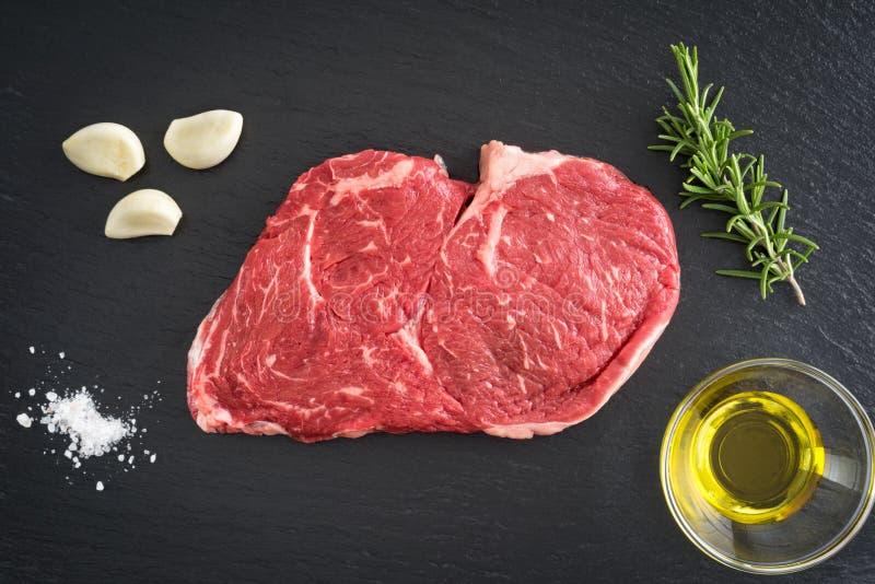 Ziobro oka stek zdjęcie stock