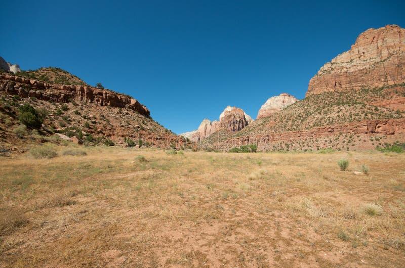 zion каньона стоковое изображение rf