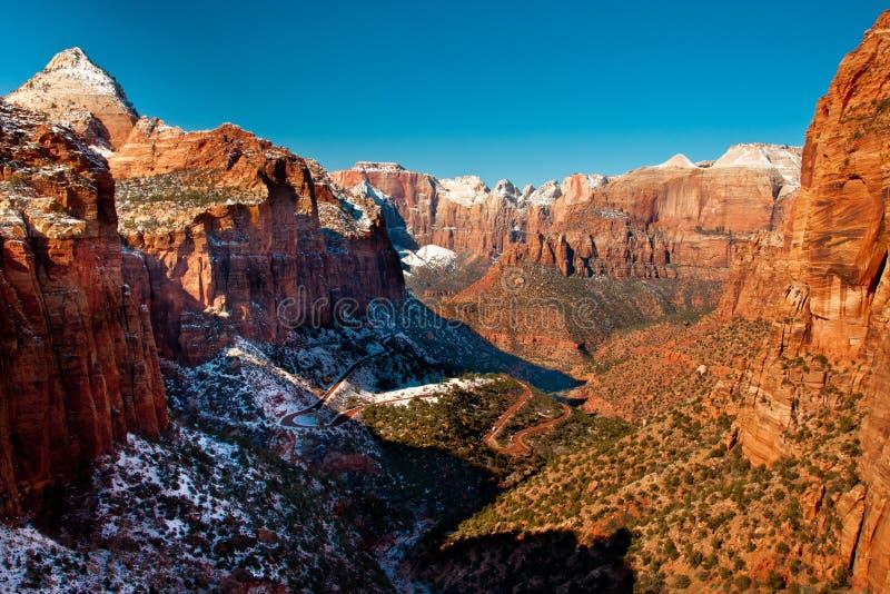 zion каньона стоковая фотография rf