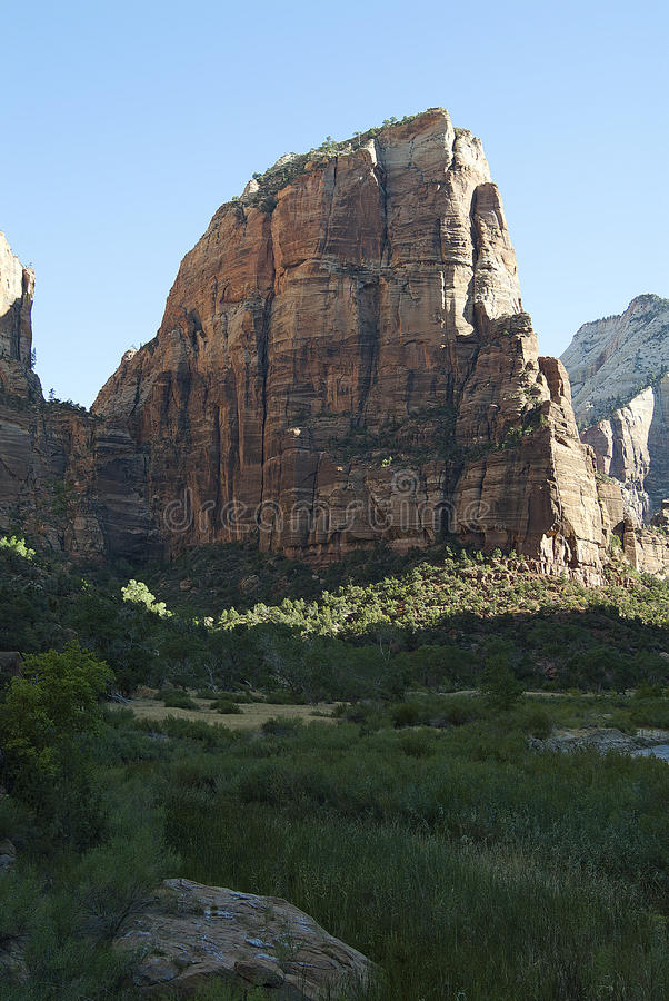 Zion Angels Landing royalty free stock photos