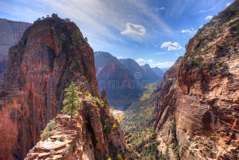 Zion Canyon fotos de stock