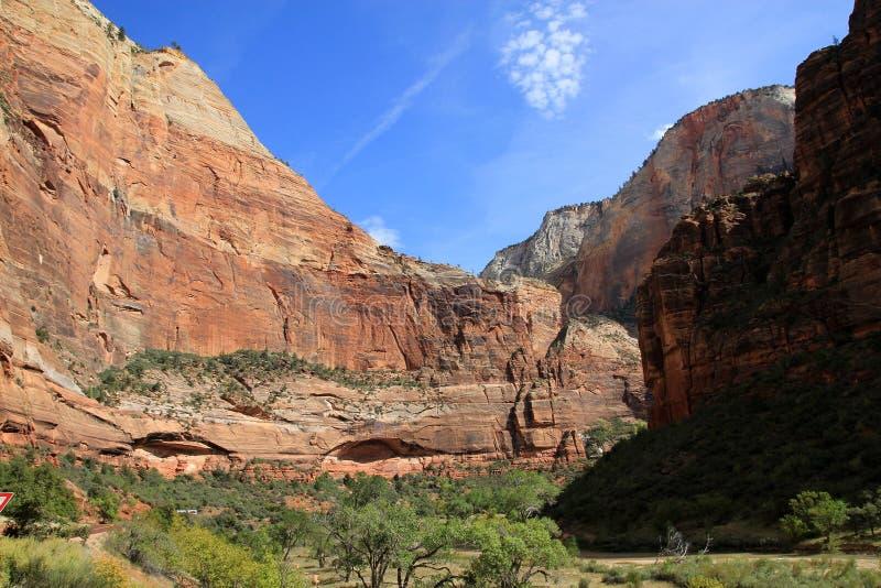 Zion Canyon immagini stock libere da diritti