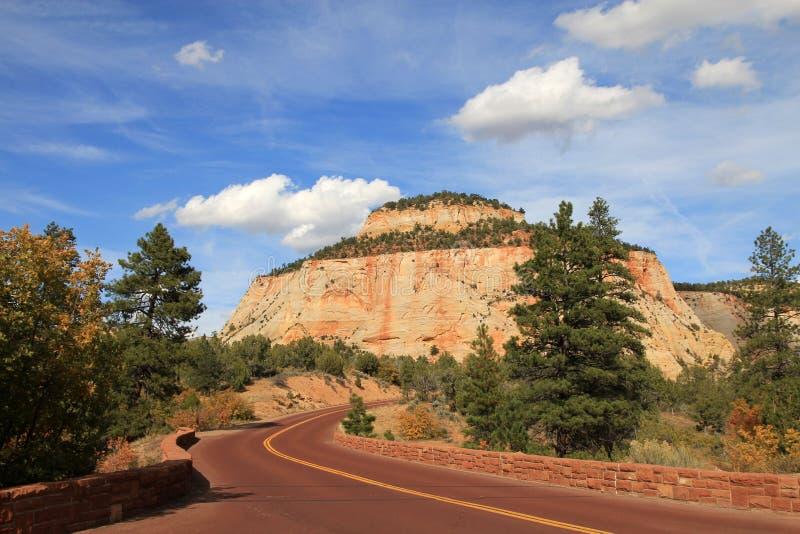 Zion Canyon immagini stock