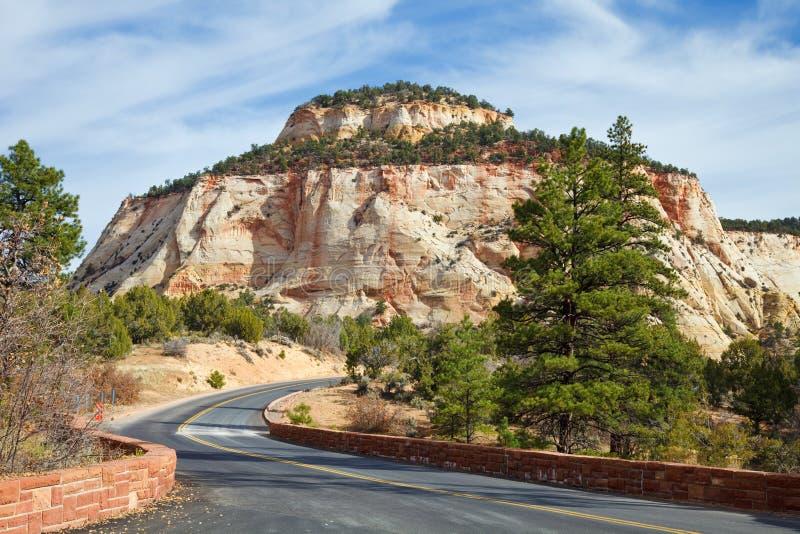 Zion Canyon Mesa royalty free stock image