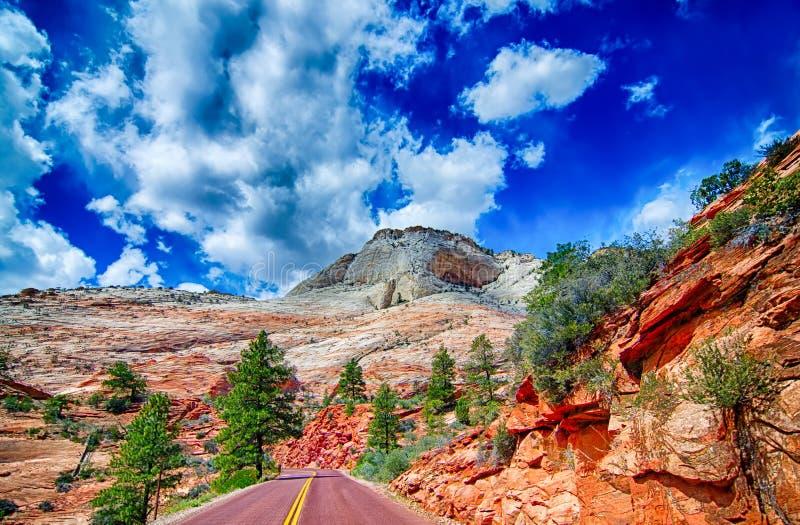 Zion Canyon National Park Utah photos stock
