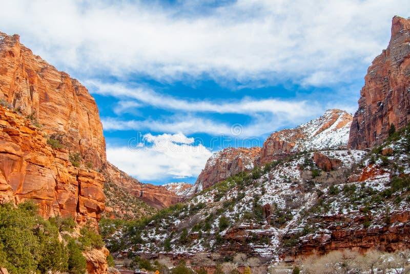 Zion Dragon Cloud photo libre de droits