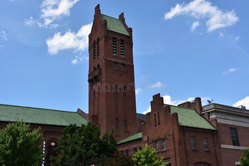 Zion Lutheran Church à Baltimore, le Maryland photo libre de droits