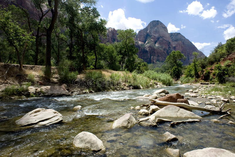 Download Zion National Park stock image. Image of sport, land - 17361853