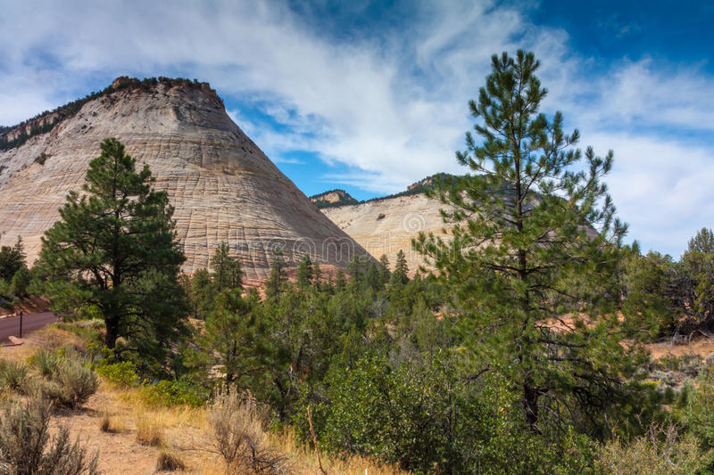 Download Zion National Park stock photo. Image of beautiful, blue - 29009052