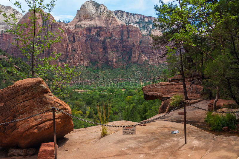 Download Zion National Park stock image. Image of current, nature - 29009127