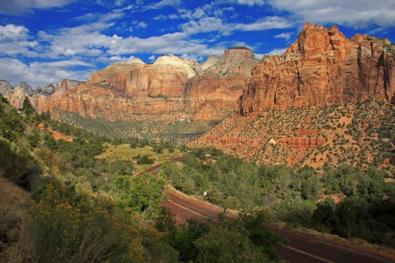 Zion National-Park lizenzfreie stockfotografie