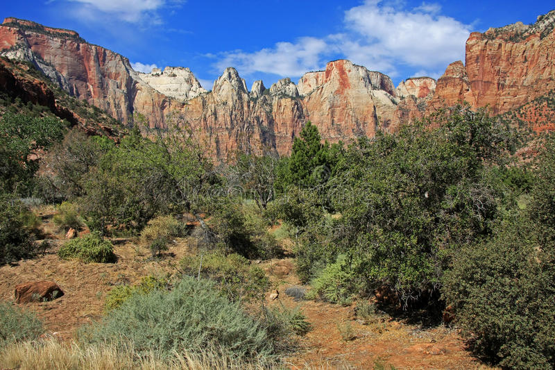 Zion National Park images libres de droits