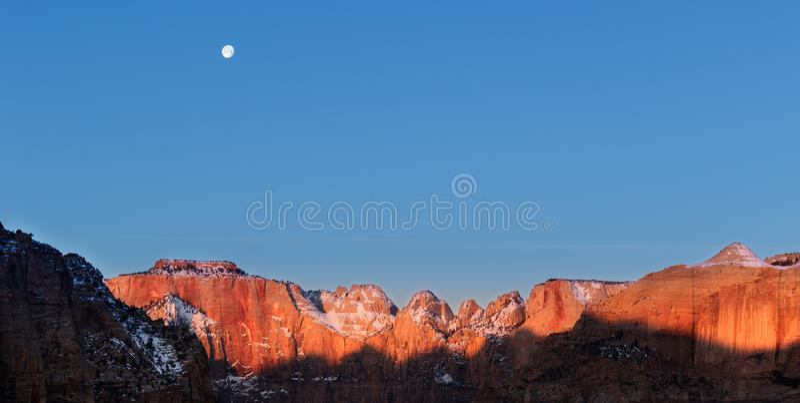 Zion National Park lizenzfreie stockfotografie