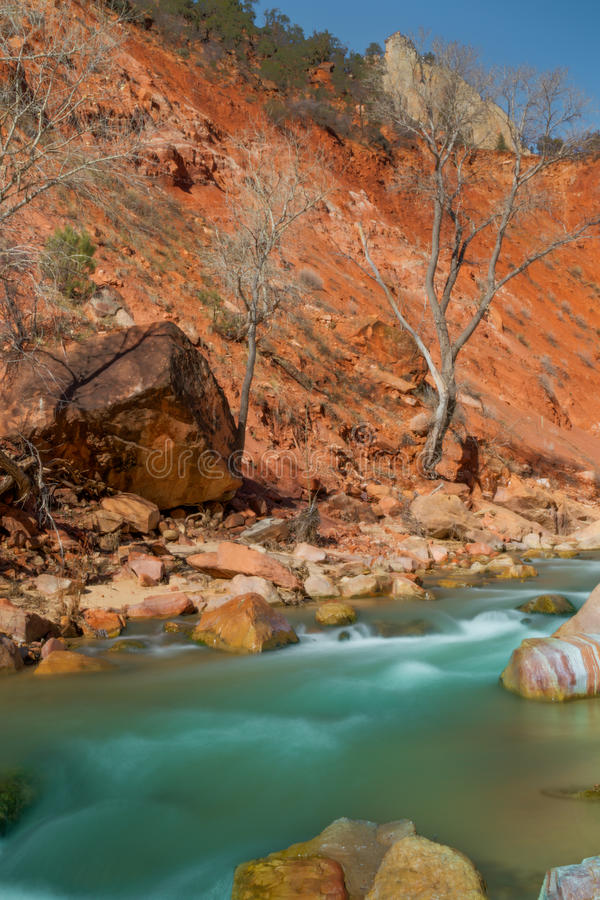 Zion National Park stockfoto