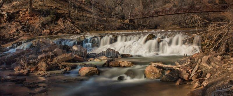 Zion National Park stockfotografie