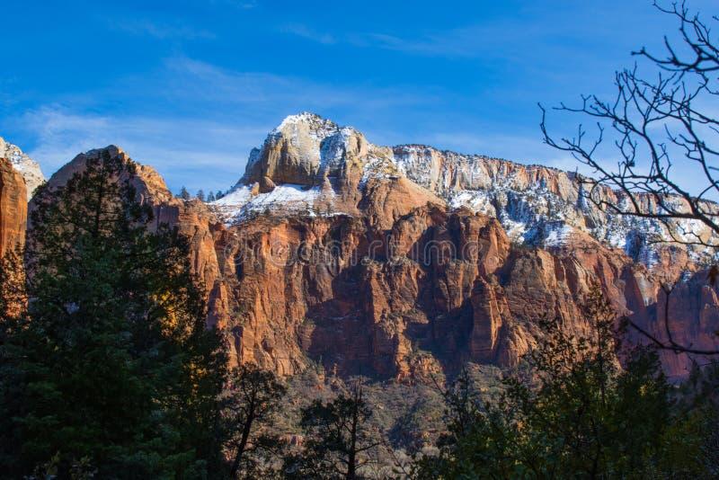 Zion National Park lizenzfreies stockfoto