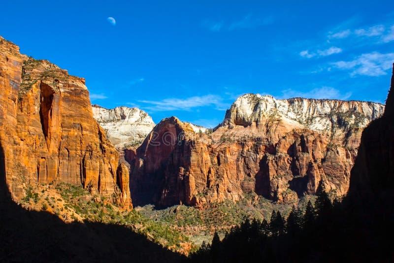 Zion National Park images libres de droits