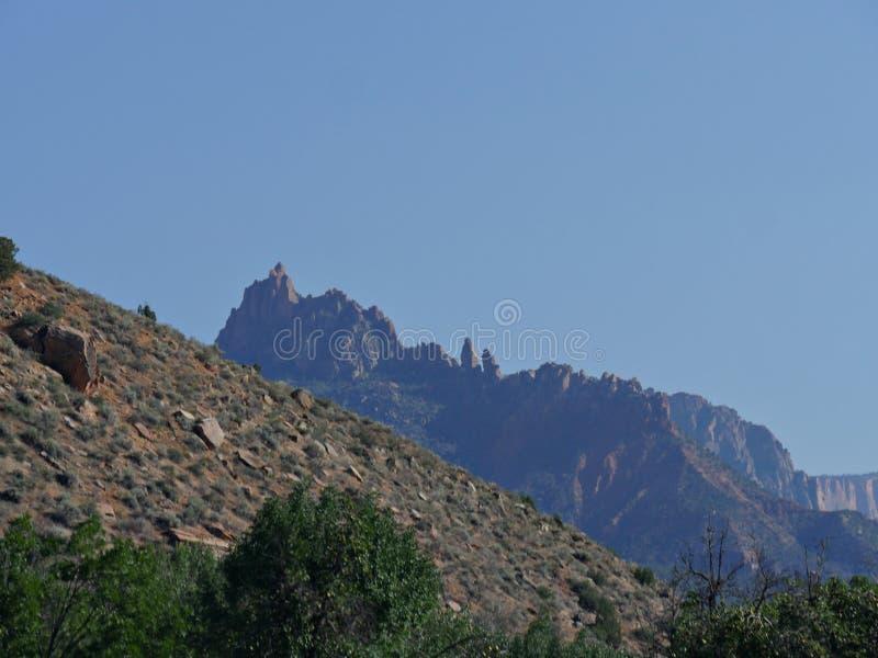 Zion National Park-foto's, Utah royalty-vrije stock afbeeldingen
