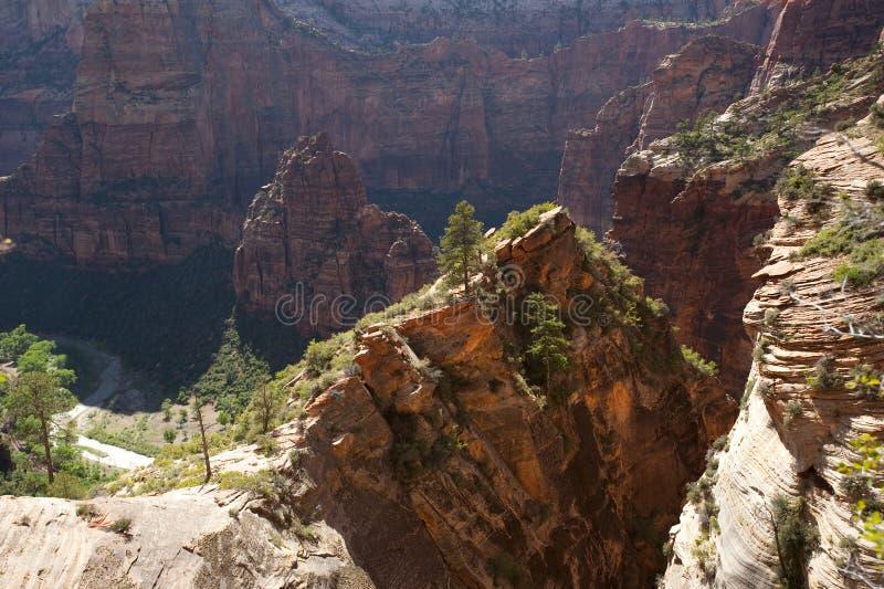 Zion National Park, main canyon stock photos