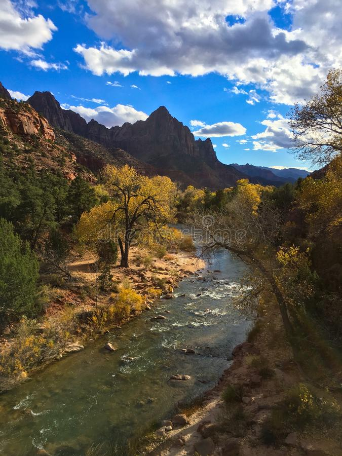 Zion National Park photo stock