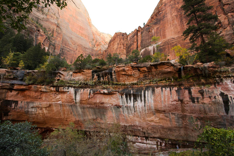Download Zion National Park Trail stock image. Image of trailhead - 25456931