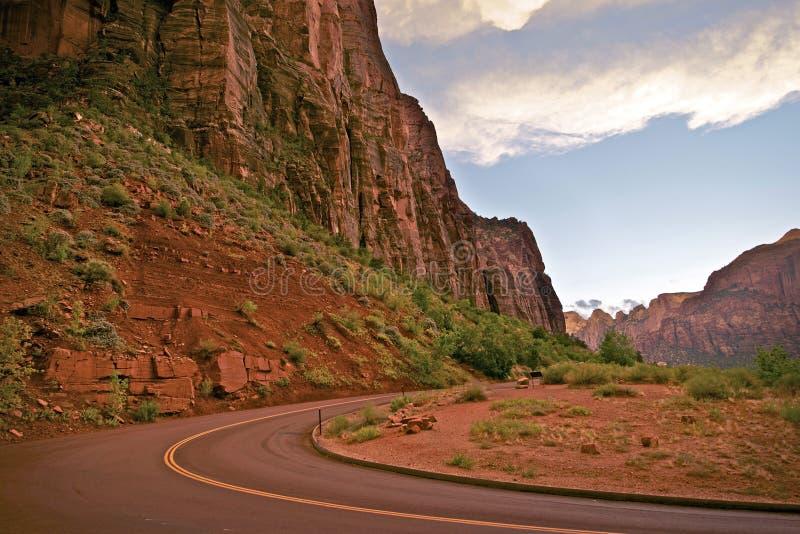 Zion National Park Utah image libre de droits
