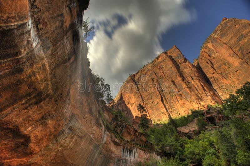 Zion National Park Utah South América ocidental imagem de stock