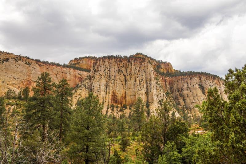 Zion National Park-Zion Canyon image libre de droits