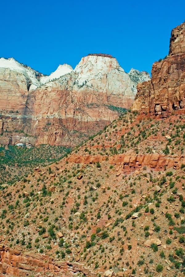 Zion Nationalpark stockbilder