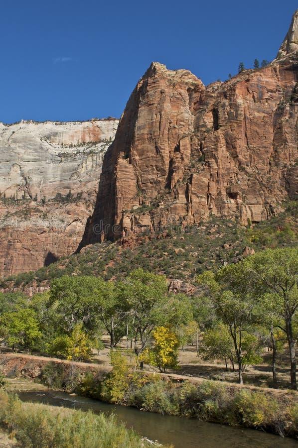Zion Nationalpark stockfotos