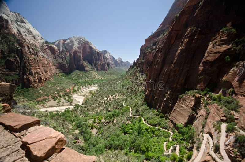 Zion Nationalpark lizenzfreies stockfoto