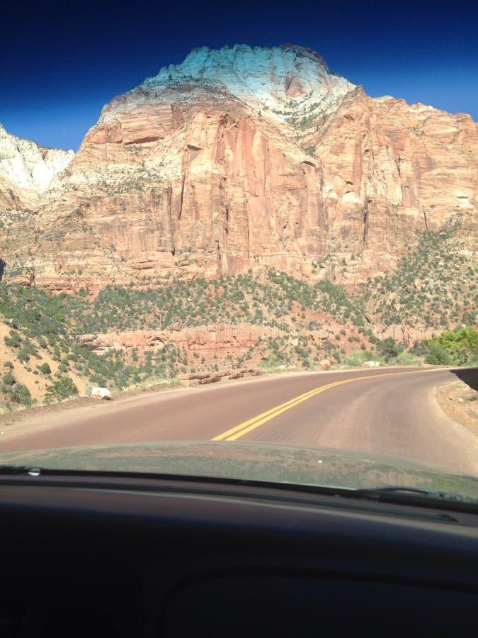 Zion Nationalpark Utah lizenzfreies stockfoto