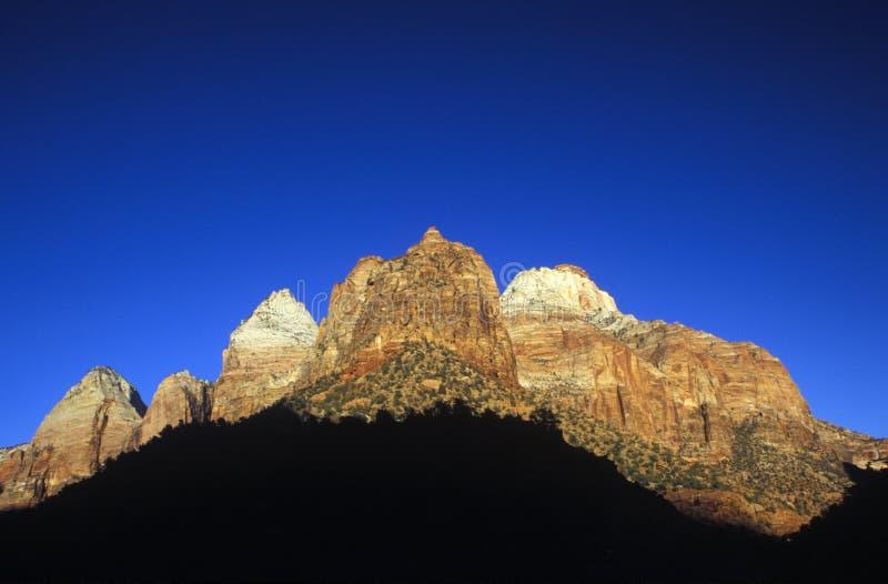 Zion NP, Utah fotografia stock
