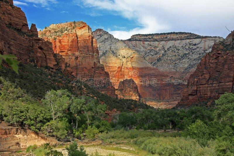 Zion park narodowy zdjęcie stock